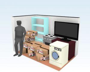 Perfeito espaço com custo baixo para estoque de mercadorias, caixas, objetos pequenos e movies pequenos entre outras coisas pessoas.   Capacidade: 85 caixas médias